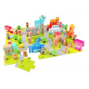 City Blocks - Barrel