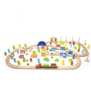 110Pc Train Set