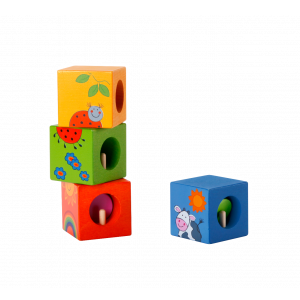 Discovery Cubes with Animal Puzzle