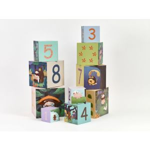 Forest Stacking Cubes