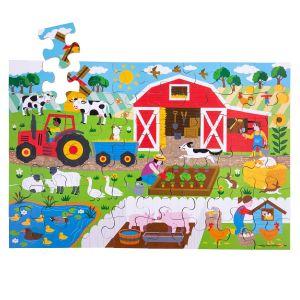 Farmyard Floor Puzzle (48 piece)