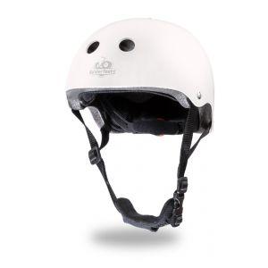 White Matte Helmet - Kinderfeets
