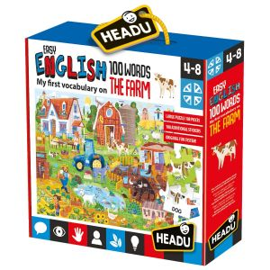 Easy English 100 Words Farm