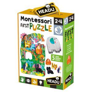 Montessori First Puzzle the Jungle