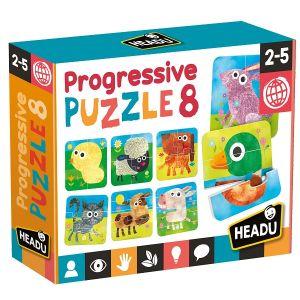 Progressive Puzzle 8