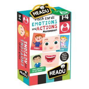 Flashcards Emotions and Actions Montessori