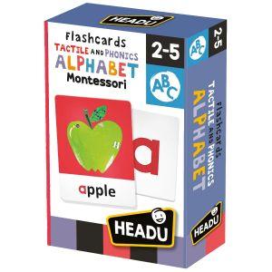 Montessori Flashcards Tactile and Phonics Alphabet
