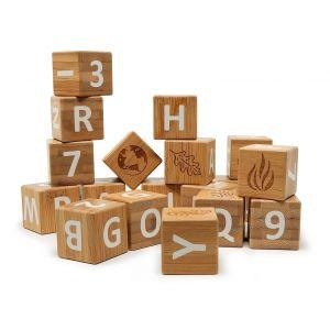 Bamboo ABC Blocks