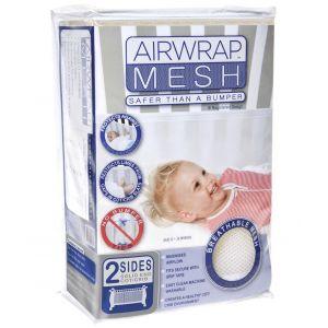 Cot Airwrap Mesh 2 Sides - White