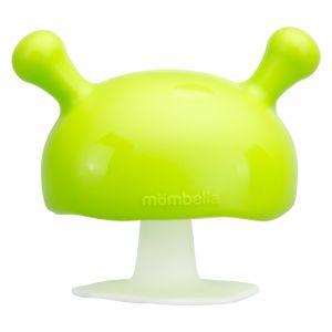 Mushroom Soothing Teether - Green