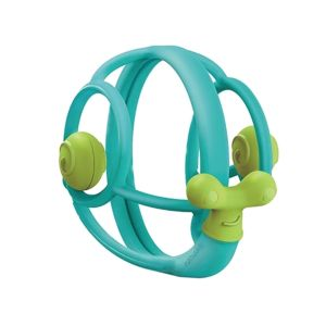 Snail Teether  Rattle - Blue
