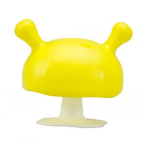 Mushroom Soothing Teether - Yellow