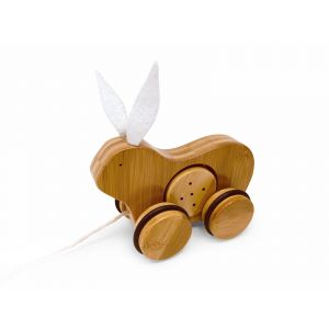 Bamboo Push & Pull - Rabbit
