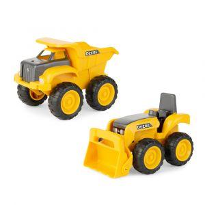 15cm Sandbox Construction 2pk - Yellow