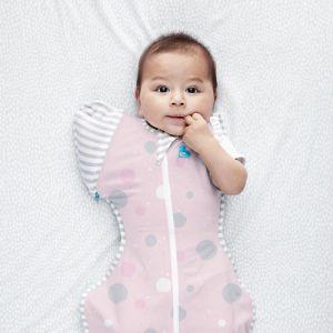 SWADDLE UP™ Transition Sleep Bag Lite Pink