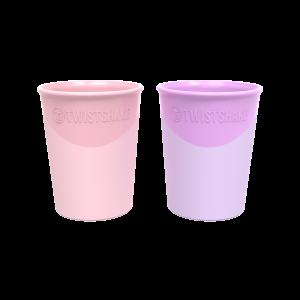 Twistshake 2X Cup 170Ml Pink/Purple