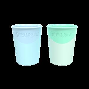 Twistshake 2X Cup 170Ml Blue/Green