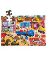 Construction Site Floor Puzzle (48 piece)