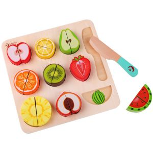Cutting Fruit Puzzle