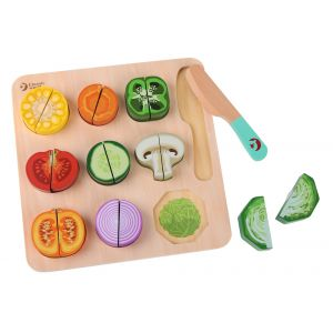 Cutting Vegetable Puzzle
