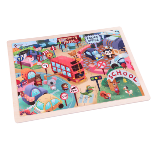 Animal City Jigsaw Puzzle