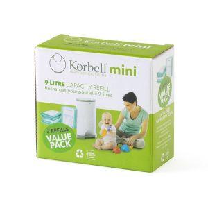 Korbell Mini 3Pk Refill