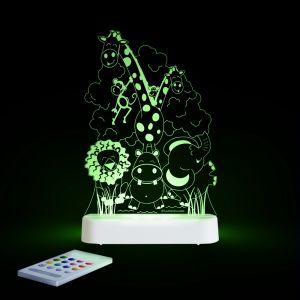 LED Night Light (USB) - Jungle