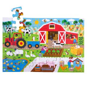 Farmyard Floor Puzzle (48 piece)