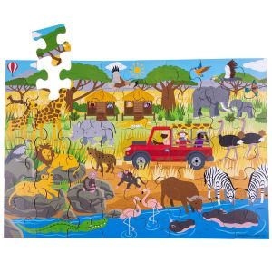 African Adventure Floor Puzzle (48 piece)