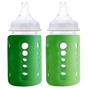 240Ml Twin Pk Light & Dark Green