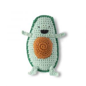 Crochet Rattle - Anthony Avocado