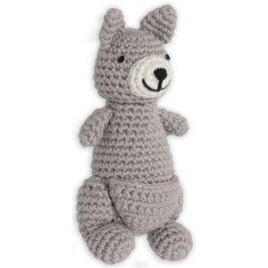 Crochet Rattle Kind Kangaroo