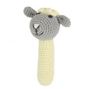 Crochet Rattle - Little Lamb