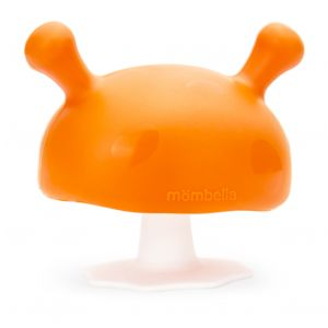 Mushroom Soothing Teether - Orange
