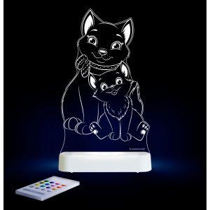 LED Night Light (USB/Battery) - Cat -NEW