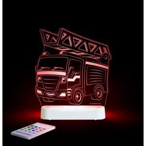 LED Night Light (USB/Battery) - Fire Engine
