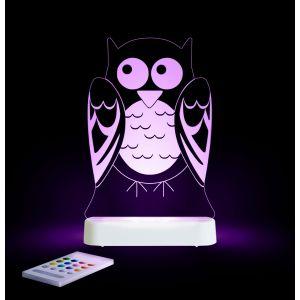 LED Night Light (USB/Battery) - Owl