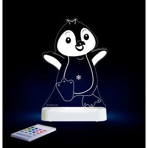 LED Night Light (USB/Battery) - Penguin