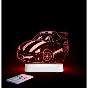 LED Night Light (USB/Battery) - Race Car