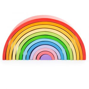 Wooden Stacking Rainbow - Large