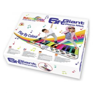 Rainbow Colours Piano Mat