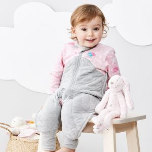 Sleep Suit 2.5 Tog Pink
