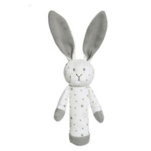 Diinglisar Organic Stars Bunny Rattle