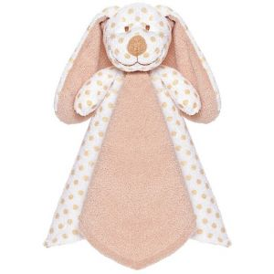 Teddy Baby Big Ears Cuddly Brown Dog Blankie