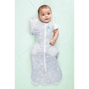 SWADDLE UP™ Transition Sleep Bag Bamboo Grey