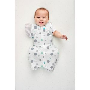SWADDLE UP™ TRANSITION BAG Lite 0.2 TOG White