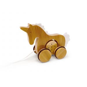 Bamboo Push & Pull - Unicorn