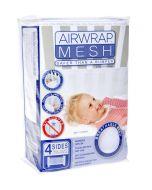 Cot Airwrap Mesh 4 Sides - White