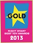 2013 Right Start Award - Gold - Sit & Ride